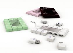 USB shokolaad